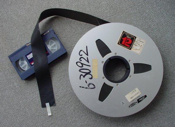 2インチビデオテープ